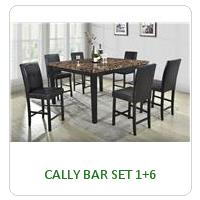 CALLY BAR SET 1+6